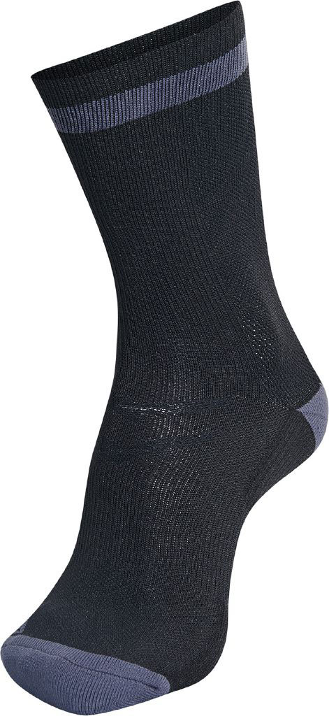 9ff7cd038bb hummel ELITE INDOOR SOCK LOW BLACK/ASPHALT | Unisex hummel Zoknik
