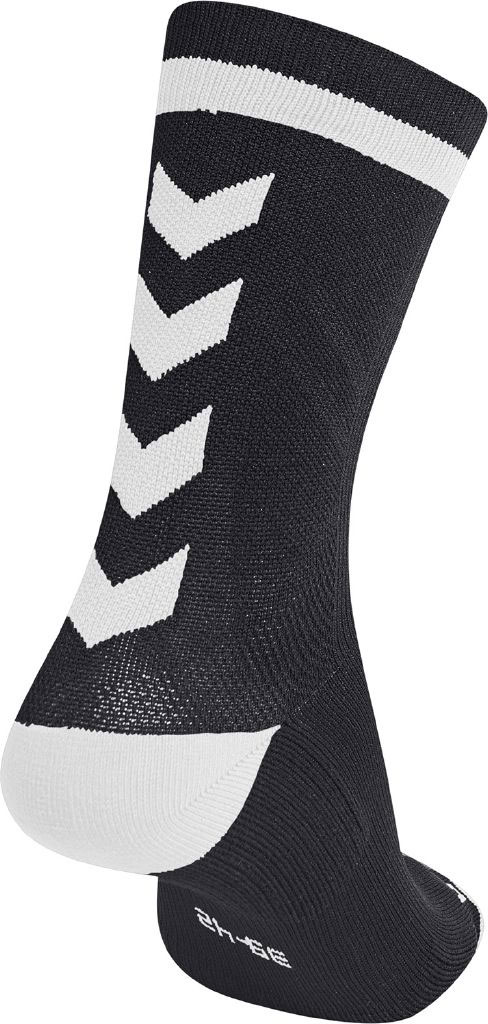 d375c57068a hummel ELITE INDOOR SOCK LOW BLACK/WHITE | Unisex hummel Zoknik