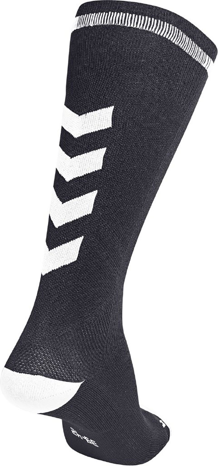 7c4cc5350e2 hummel ELITE INDOOR SOCK HIGH BLACK/WHITE | Unisex hummel Zoknik