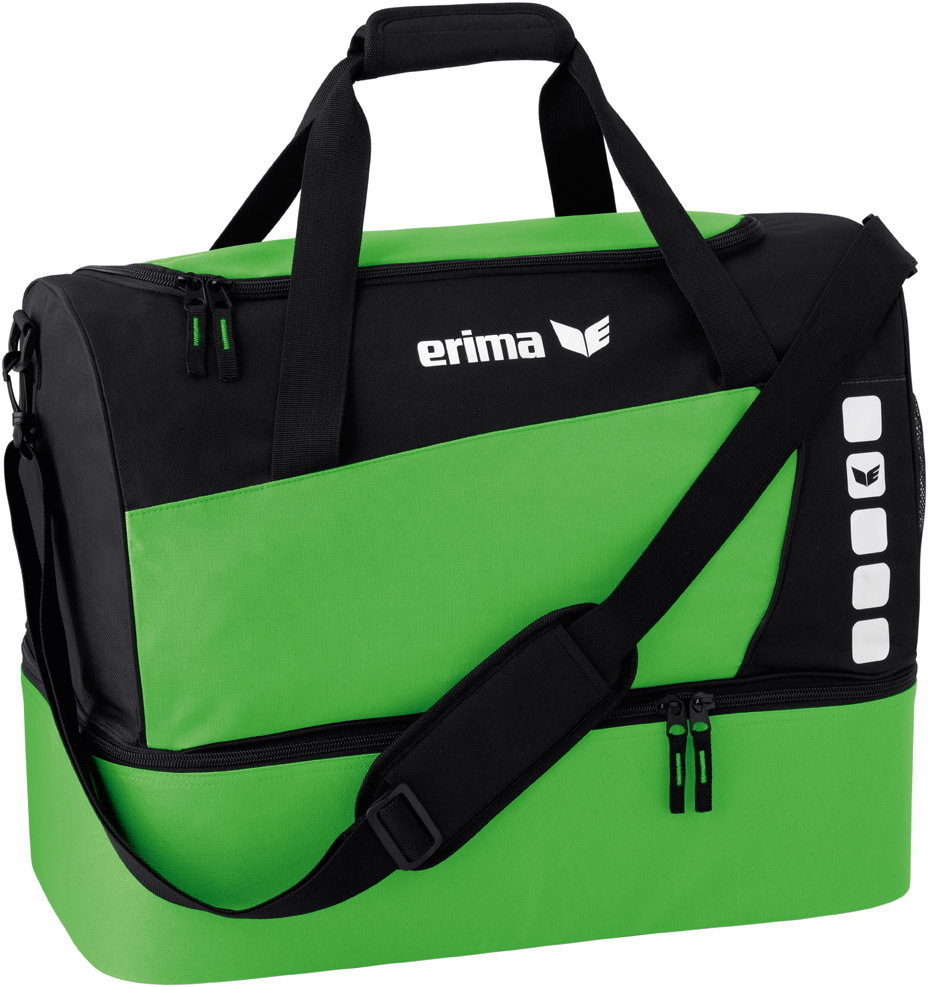Erima Sports Bag with Bottom Compartment zöld fekete táska  abddc17389